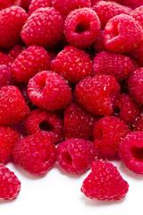 Heap of Raspberries