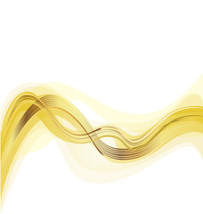 Golden trend background vector