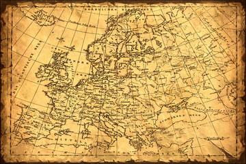 Retroplakat - Europa