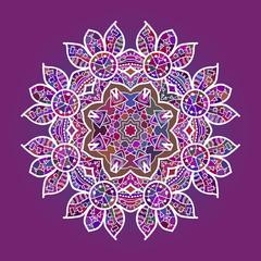 what is karma - Oriental mandala motif