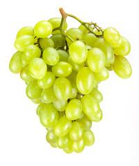 Fototapete - Green grape isolated