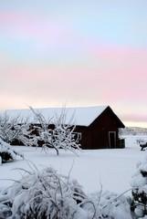 ein Dorf in Schweden