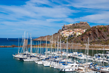 Fototapete - Castelsardo, Sardinia, Italy