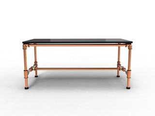 Copper Office Table
