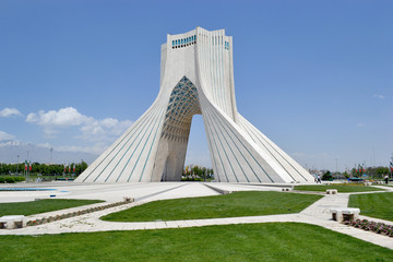 Tehran, gateway, Azadi monument