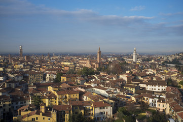 Verona panoramic view