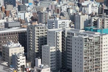 Bunkyo district cityscape, Tokyo