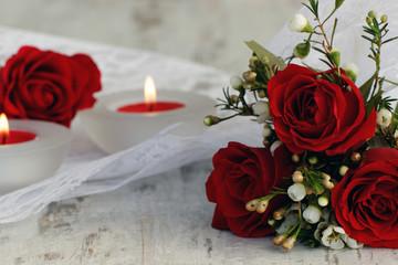 Romantische Dekoration