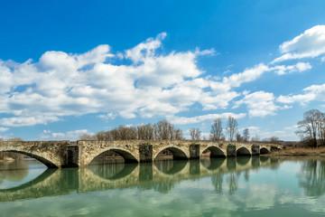 Foto op Textielframe Artistiek mon. Buriano's bridge
