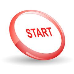 Start. Vector icon.