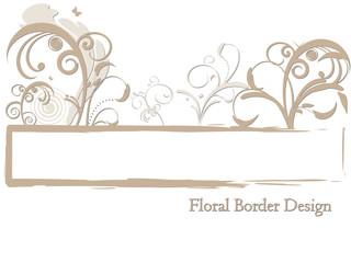Floral Border Design