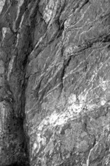 Nature Background - rock texture in black and white