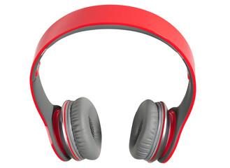 Headphones. Isolated