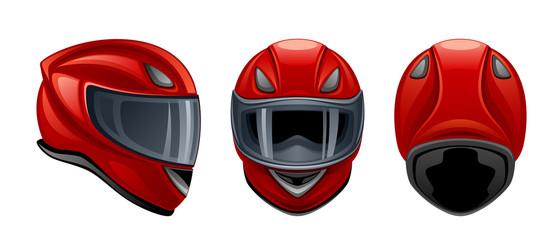 Fotomurales - Motorcycle helmet