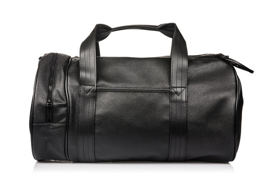 Sport bag isolated on the white background