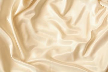 Beautiful silky brilliant wavy fabric