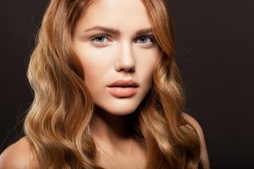 Fototapeta Beauty face of beautiful woman