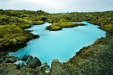 Photo sur Plexiglas Pôle The Blue Lagoon in Iceland