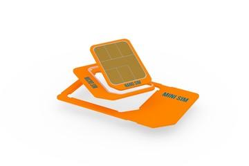 Kombi Nano Micro Mini SIM Karte Phone Card