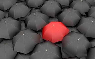 Papiers peints Rouge, noir, blanc The leader, the best, 3 d