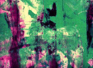 Grunge collage, watercolor style , great background or texture