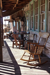 Saloon- western - Outside