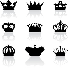 King crown icons