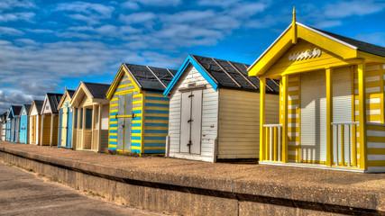 Colouful Beach Huts