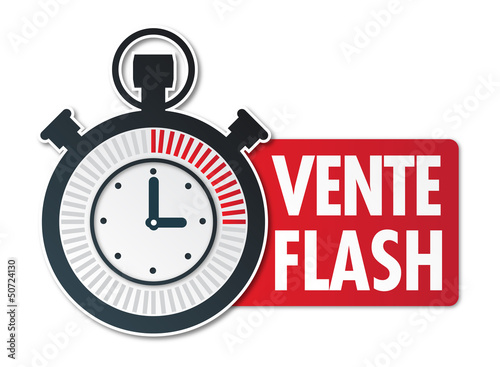 Chrono vente flash fichier vectoriel libre de droits sur la banqu - Vente flash ordinateur ...