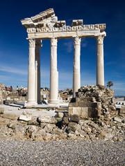 Apollo Temple, Side