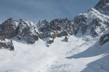 Creste del Monte Bianco