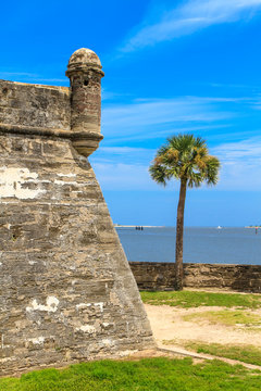 St. Augustine Fort, Castillo de San Marcos National Monument