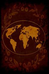 Retroplakat - Alte Welt