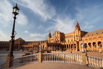 Wall Mural - Plaza de Espana in Sevilla, Spain