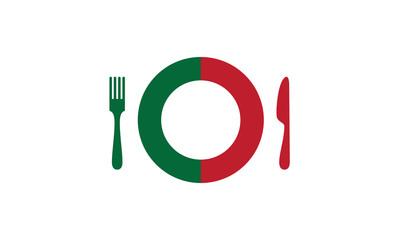 Concept cuisine italienne