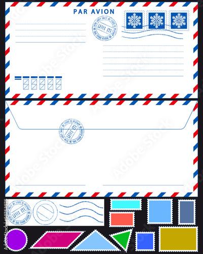 Как сделать на конверте свою фотографию 891