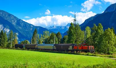 Fototapete - Alps landscape