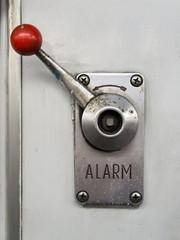 Alarm lever