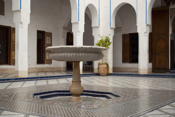 Bahia Palace in Marrakech, Morocco