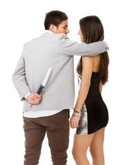 man hats woman