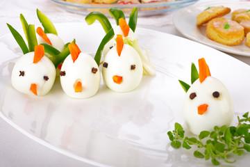 Osterhühner aus Ei