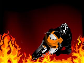 Fototapete - Motorcycle
