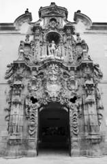 Madrid - Baroque portal of Museo Municipal