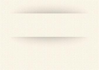 Cartouche Carreaux blanc