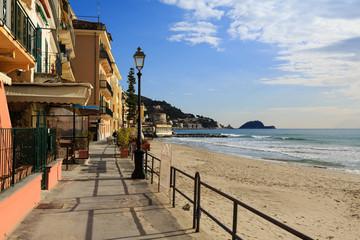 Spoed Foto op Canvas Liguria Alassio