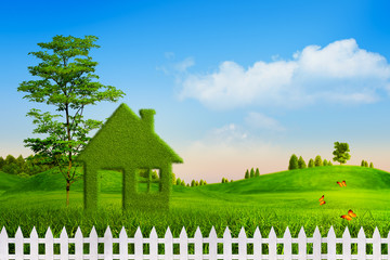 Green House, abstract environmental backgrounds for your design
