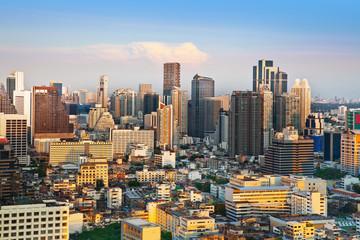 Urban City Skyline, Bangkok, Thailand