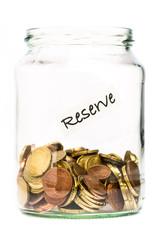 Aufgebrauchte Euro Reserven