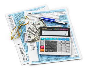 Filling of 1040 Tax form