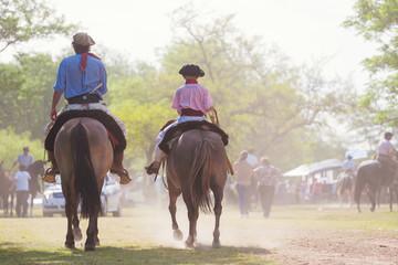 Gauchos, Fiesta de la Tradicion, San Antonio de Areco, Argentina